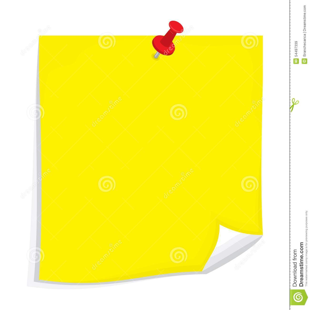vector sticky note stock illustration illustration of background rh dreamstime com post it note vector sticky note vector free download