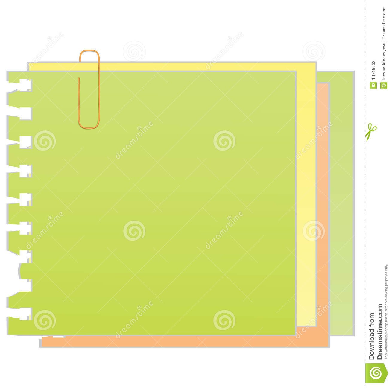 Free vector graphic sticky note note info paper free image on - Vector Sticky Note With Paper Clip Stock Photography