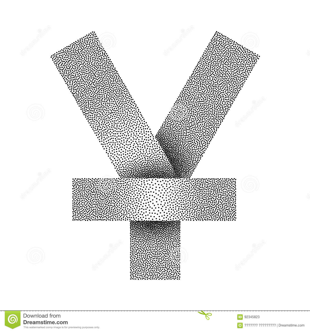 Vector stippled yen or yuan sign icon yen or yuan currency symbol vector stippled yen or yuan sign icon yen or yuan currency symbol biocorpaavc Image collections