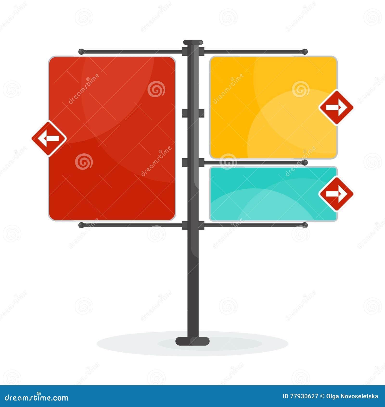 vector street sign stock vector illustration of