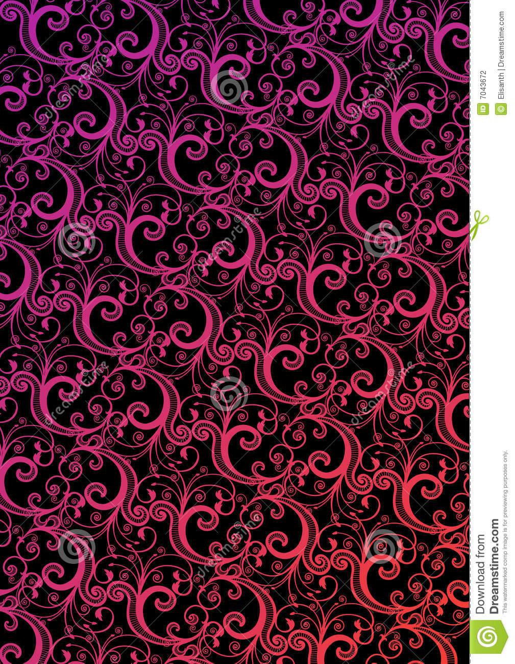 Vector stylish wallpaper stock photography image 7043672 for Stylish wallpaper