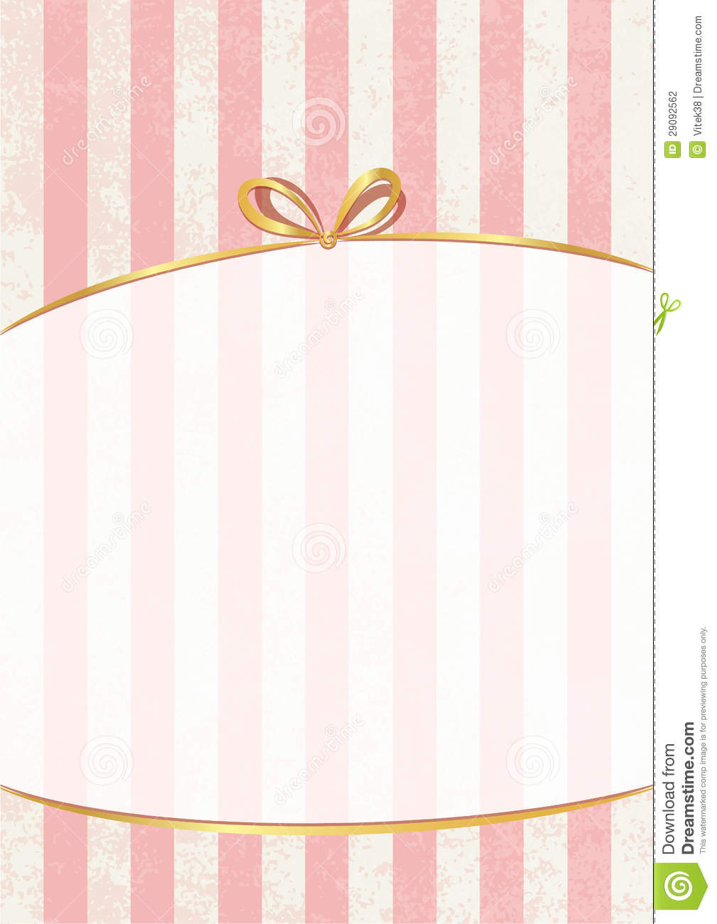 Vector Sweet Stripped Background White And Pink Cute