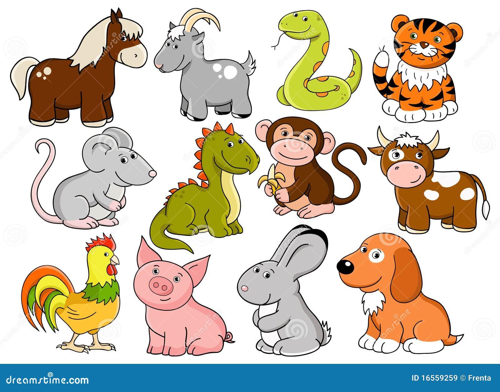 Животные в китайский новый год