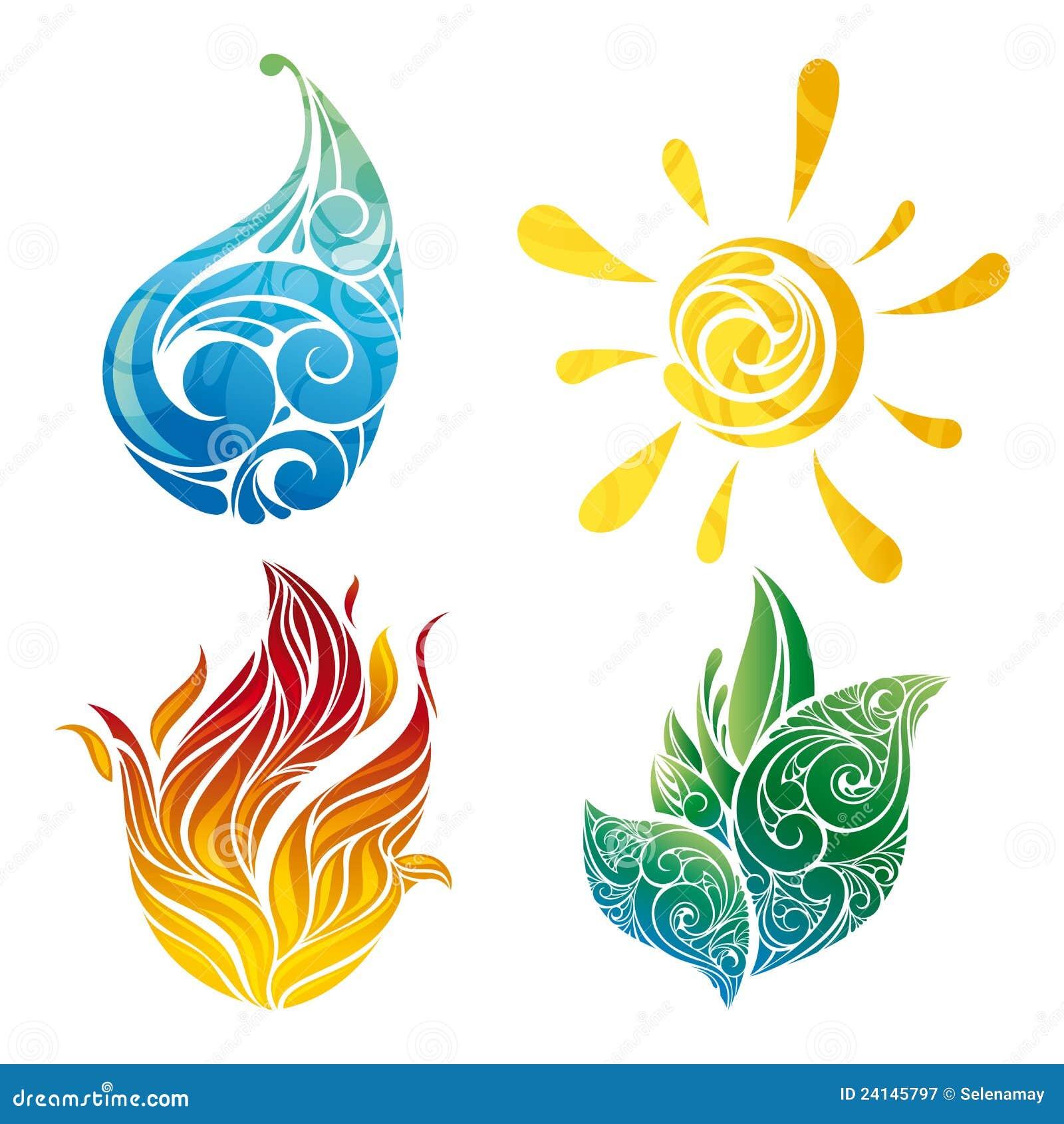 Vector Symbols Of Elements Stock Vector Illustration Of Element