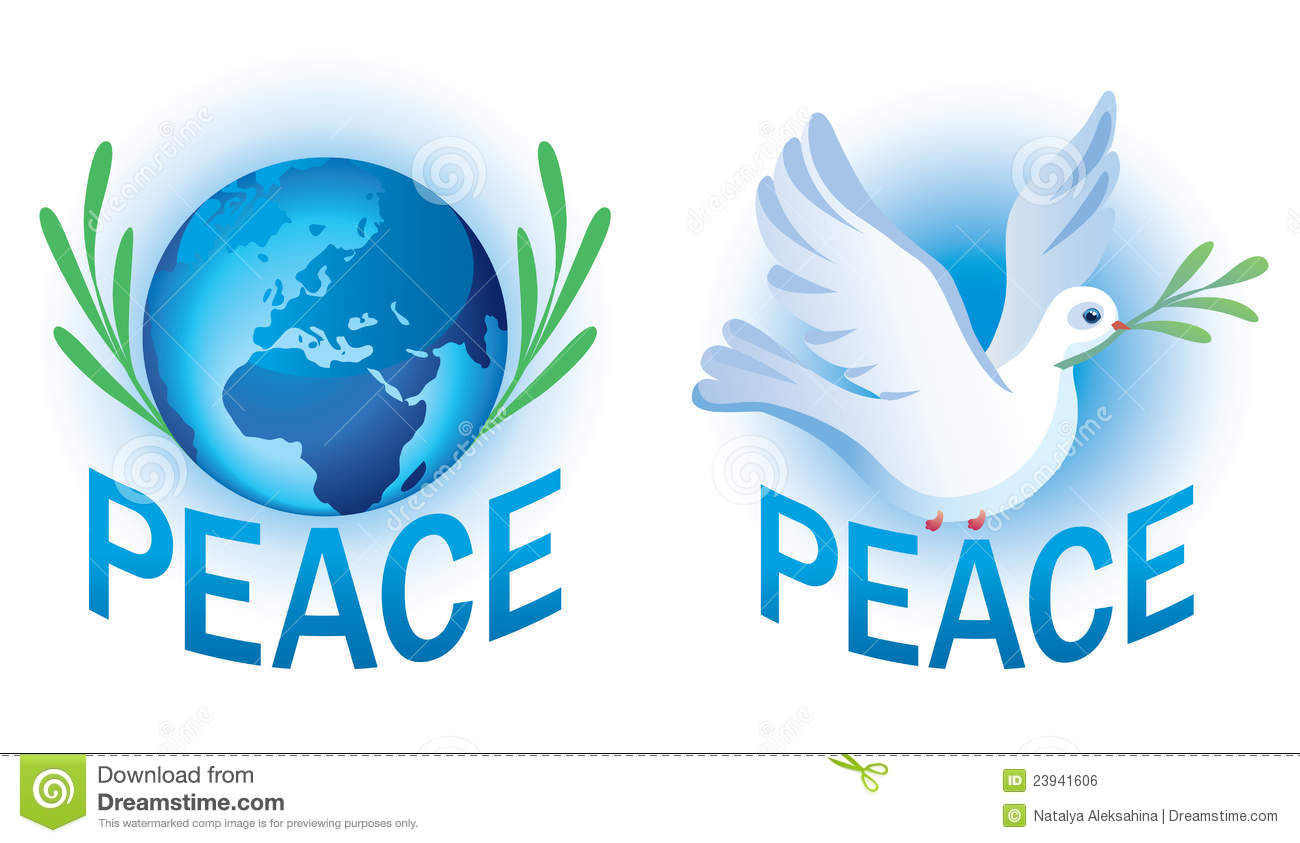 Vector symbols of peace stock vector illustration of pigeon vector symbols of peace buycottarizona