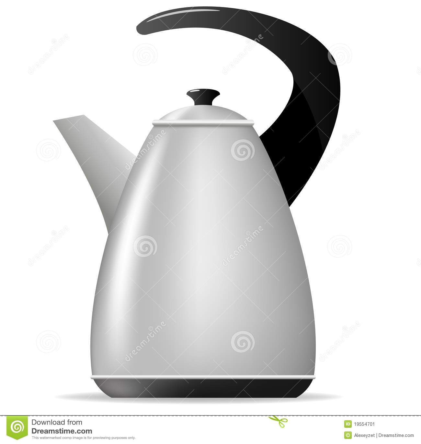 Vector Tea Kettle Stock Image - Image: 19554701