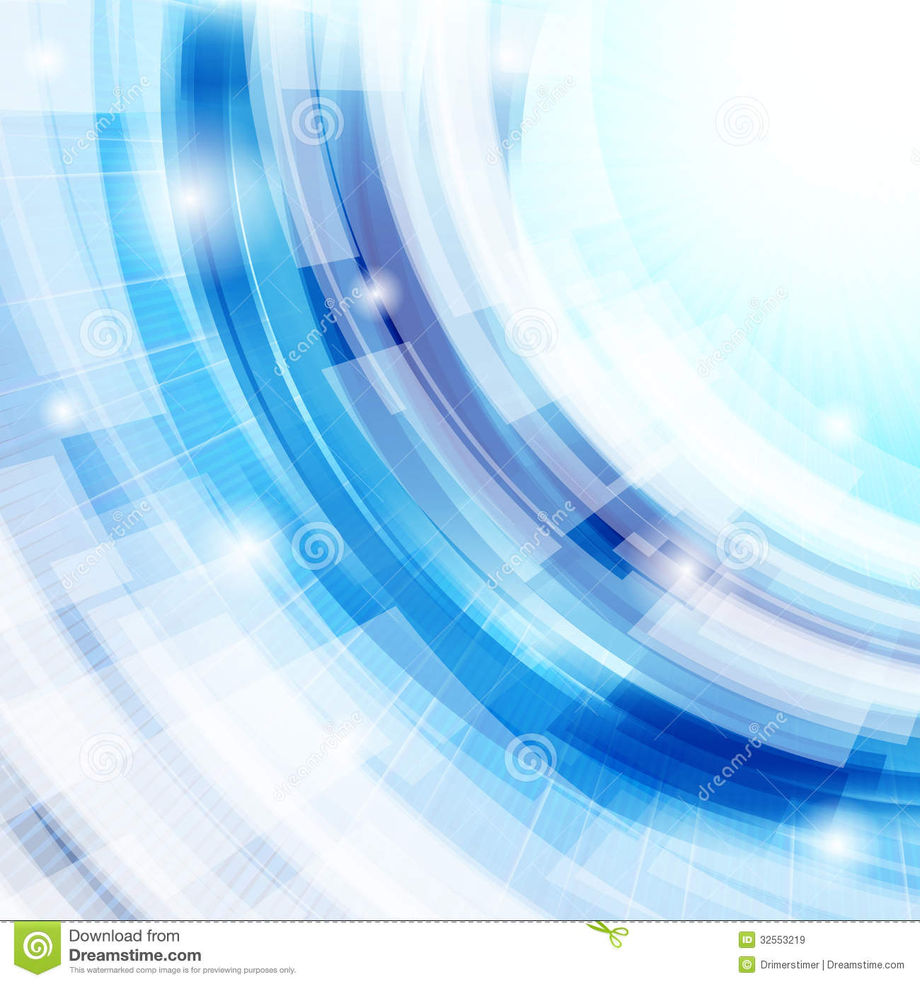 vector techno abstract blue background royalty free stock images