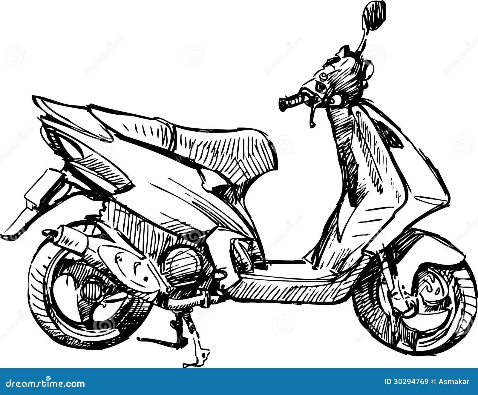 Afbeeldingen Kleurplaten Auto S Motor Vector Illustratie Illustratie Bestaande Uit Schets