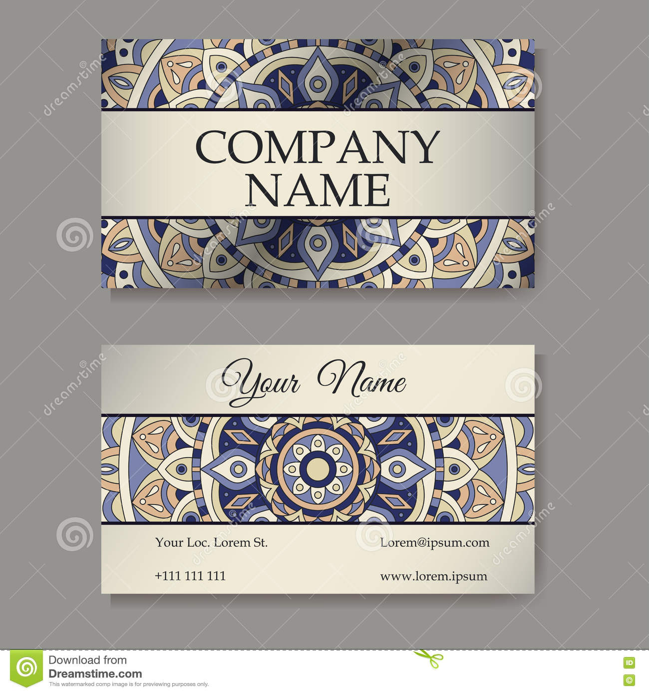 Vector template business card geometric background card or download comp colourmoves