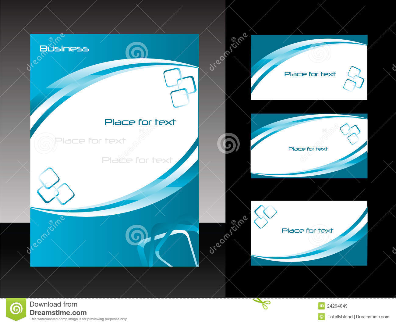 Vector Template For Business Design Stock Vector - Illustration of ...