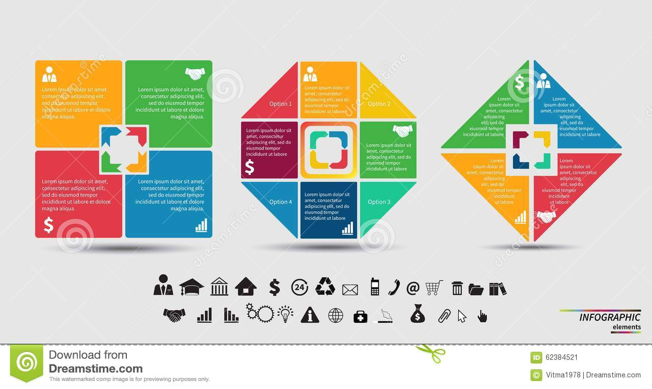 Vector Template For Cycle Diagram, Graph, Presentation And ...
