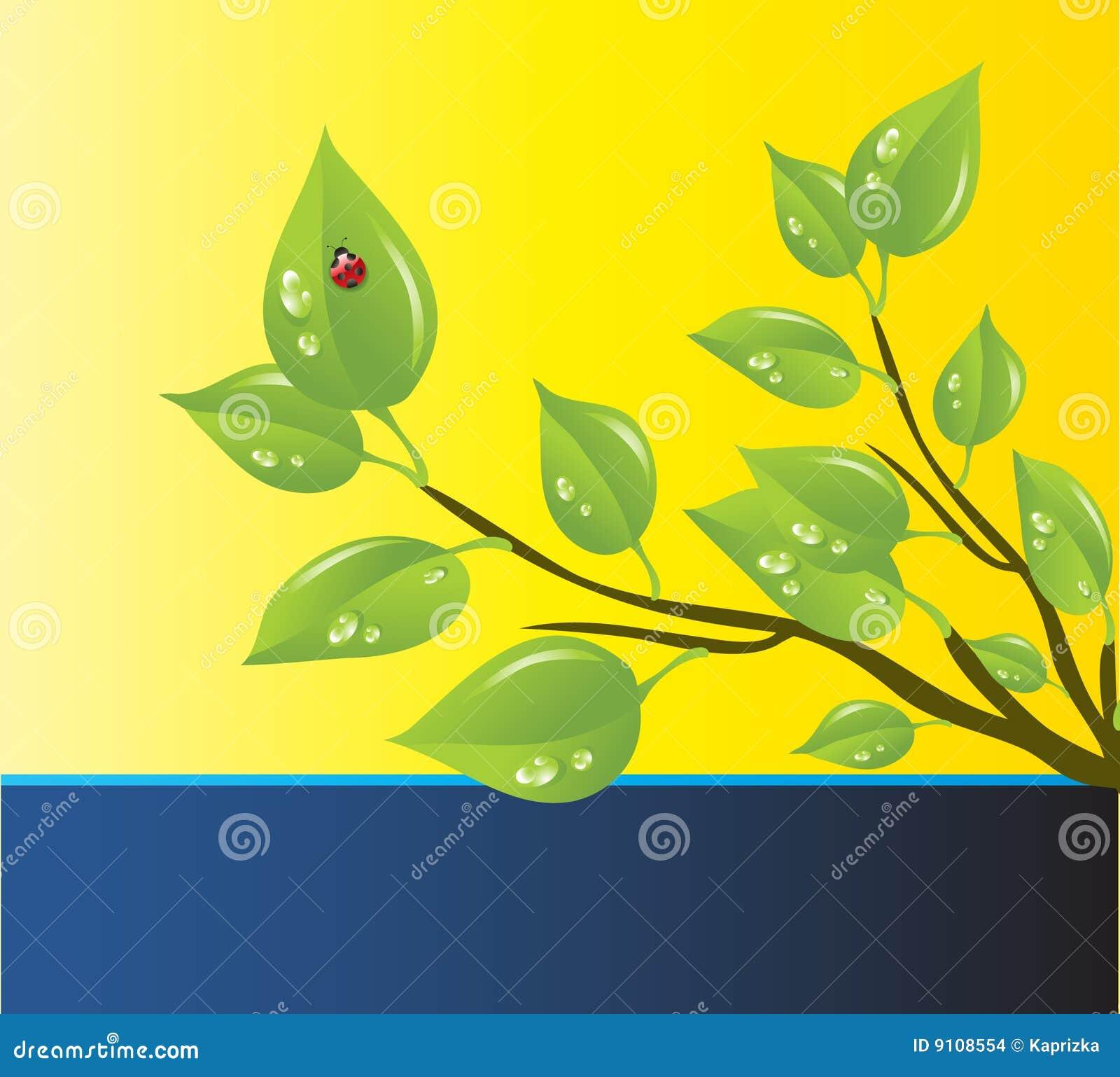 environmental protection plan template - vector template of a environmental protection stock images image 9108554