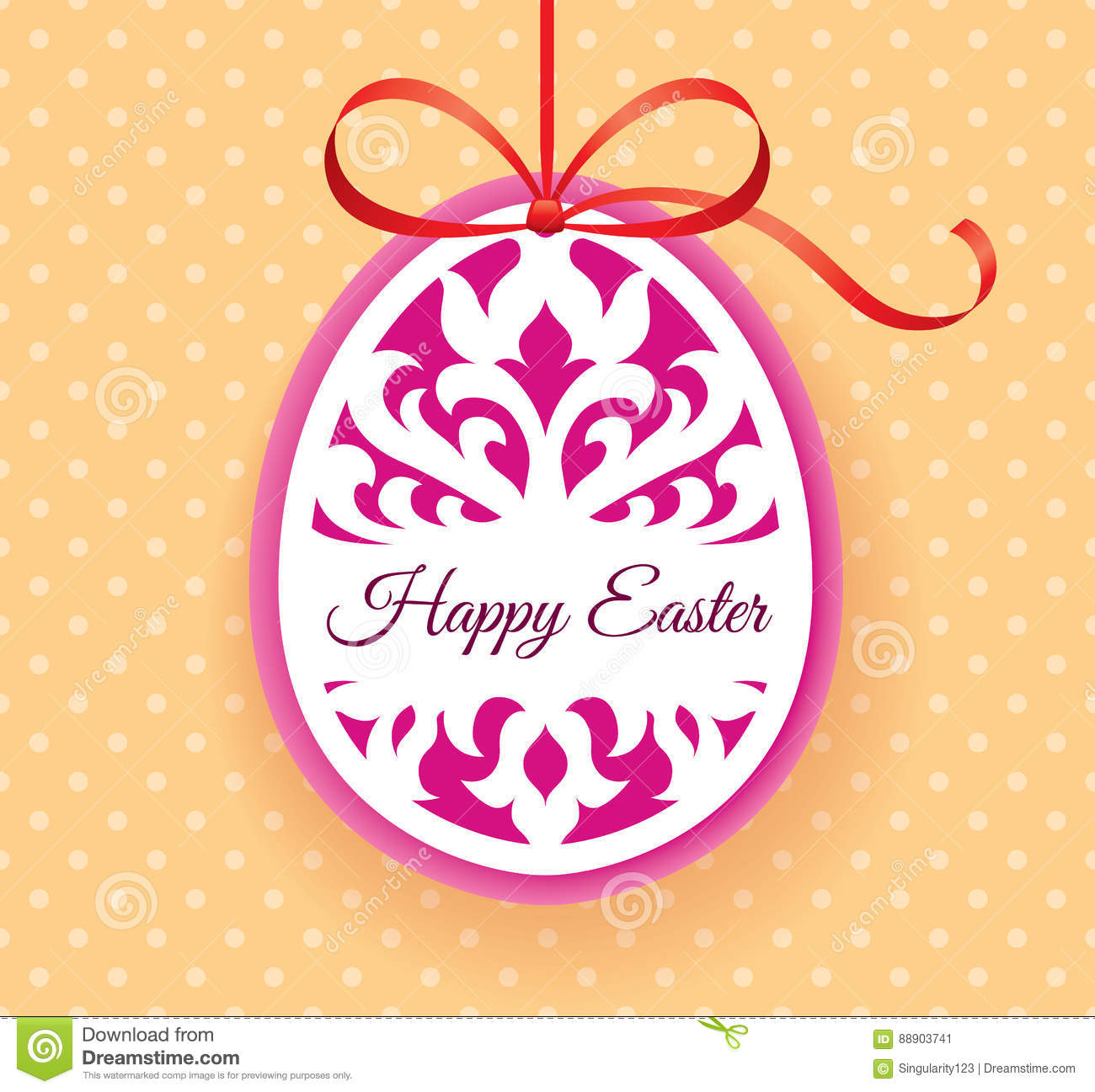 Vector Template For Laser Cut Easter Egg Greeting Card Tag – Easter Invitation Cards