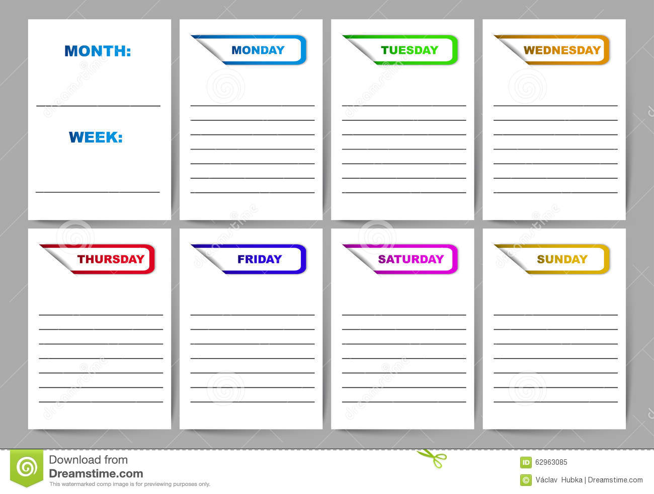 wildlife management plan template - search results for cute weekly planner template