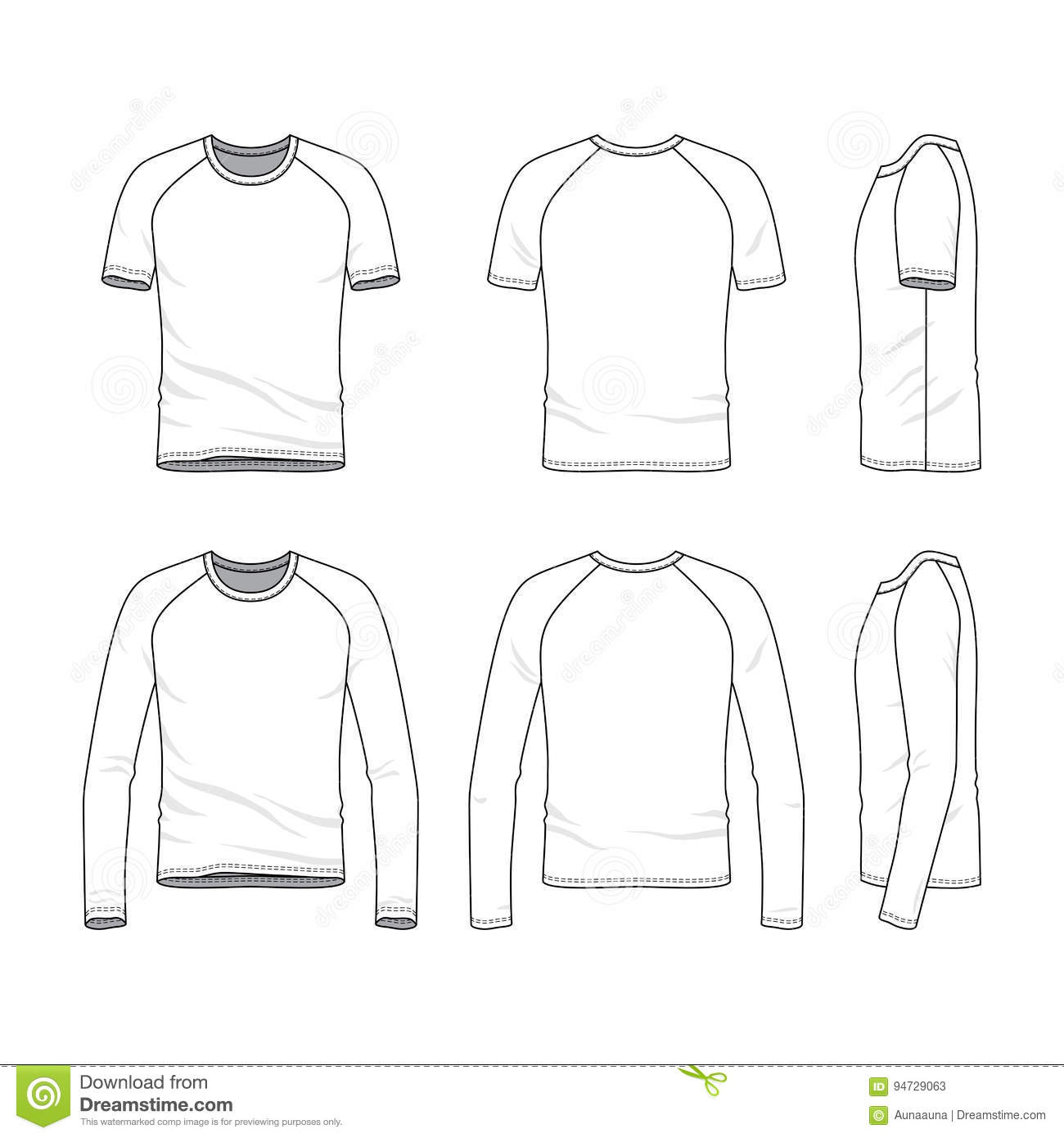 vector templates of blank t