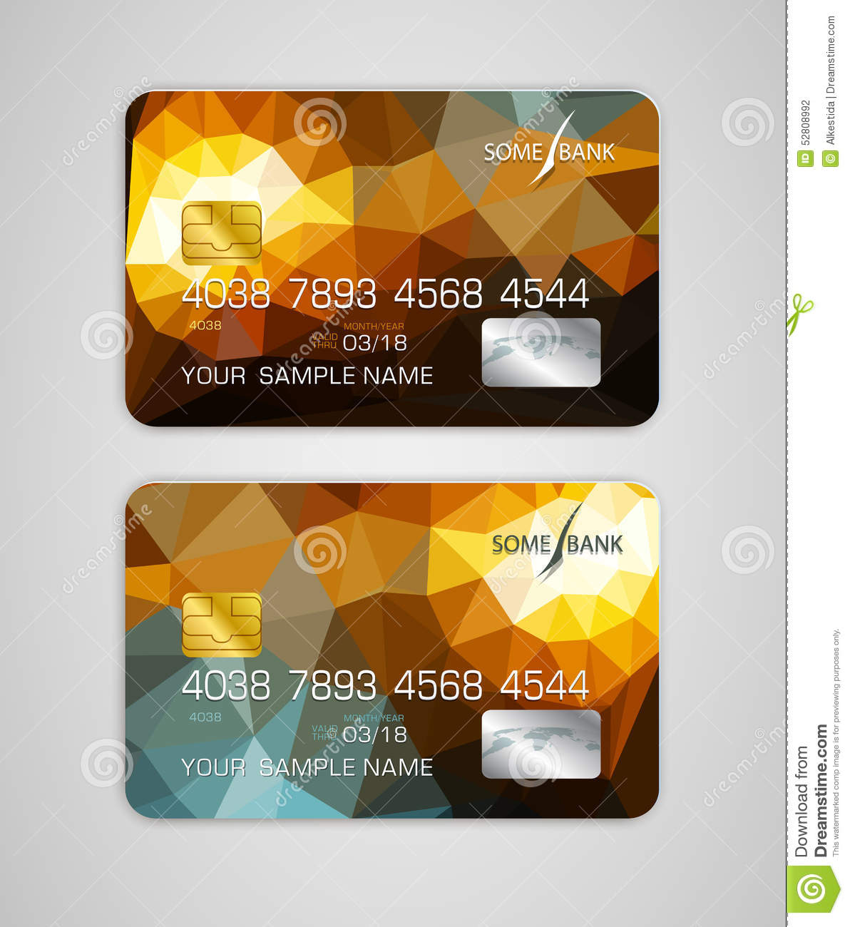 vector templates credit card with colorful abstract pattern stock vector image 52808992. Black Bedroom Furniture Sets. Home Design Ideas