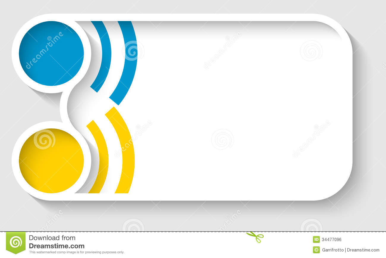 Vector Text Frame Royalty Free Stock Image Image 34477096