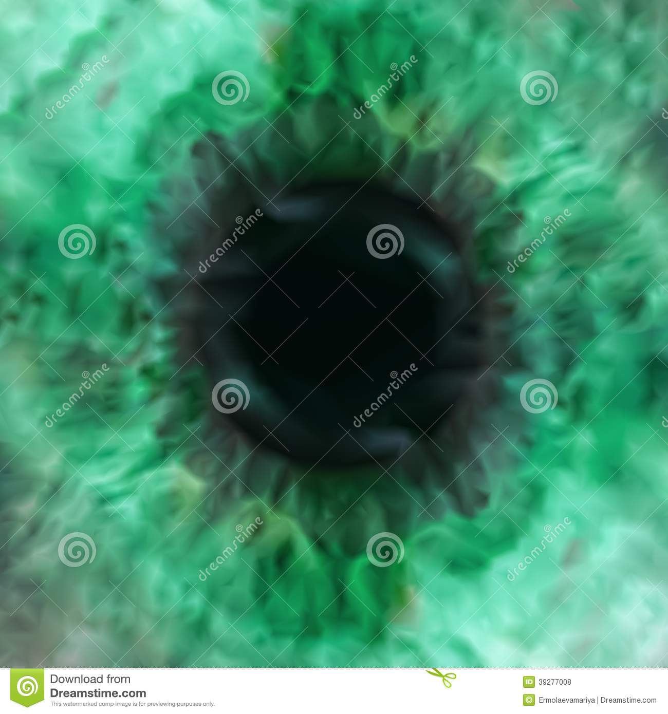 Vector Texture Of Green Eye Pupil Stock Vector - Image ...