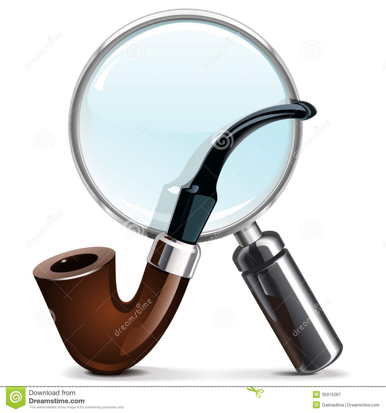 how to make a magnifying glass with water