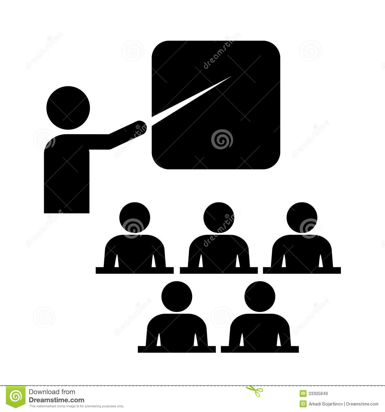 Vector Training Icon Royalty Free Stock Images - Image ...