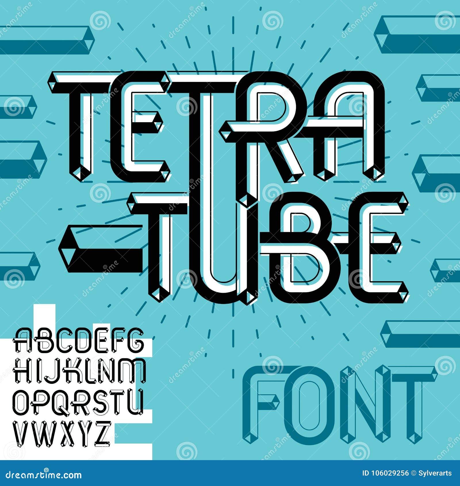 Abc Creation dedans vector trendy vintage capital english alphabet letters, abc coll