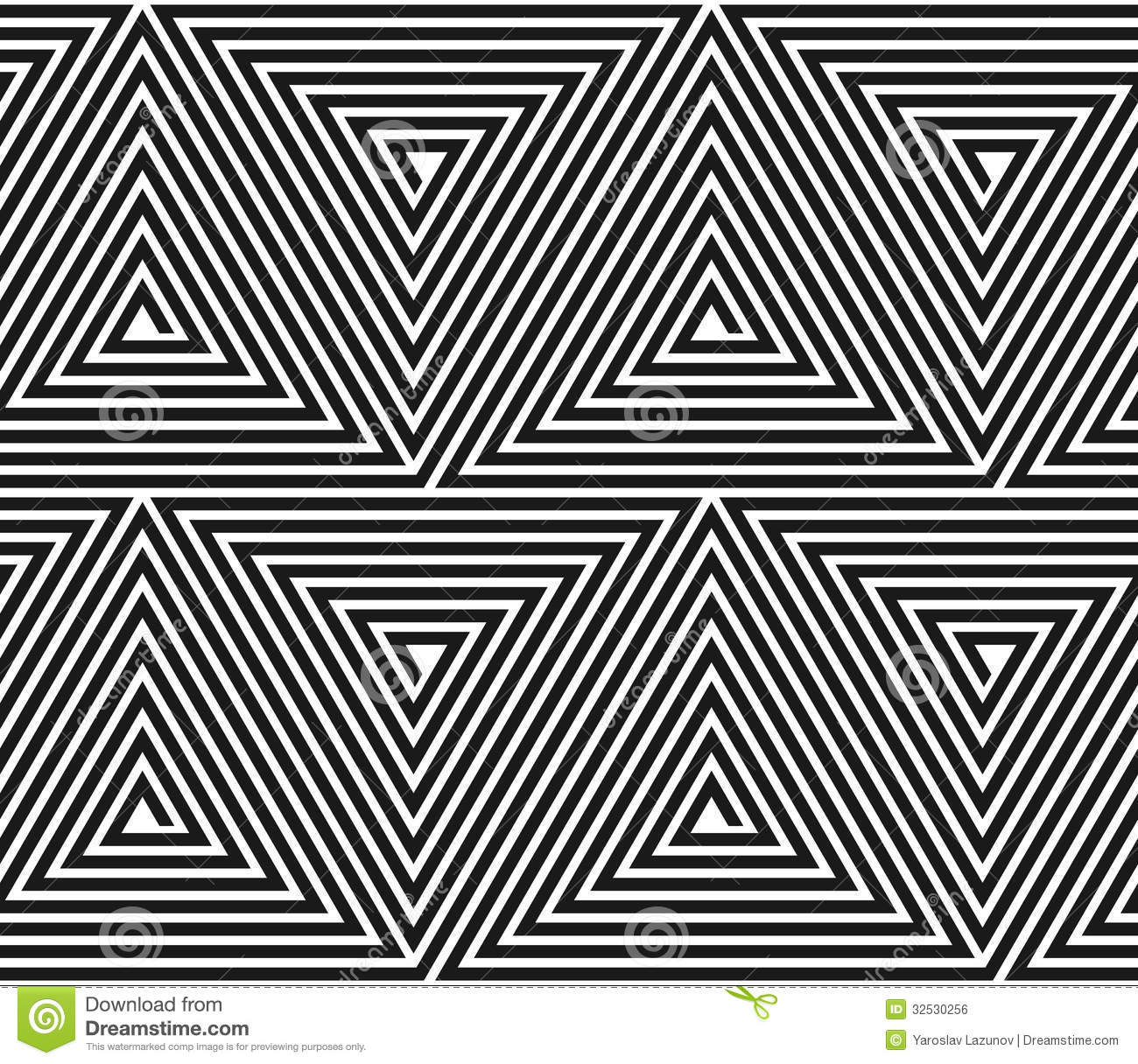 Vector Triangular Geometric Pattern. Royalty Free Stock Image ...