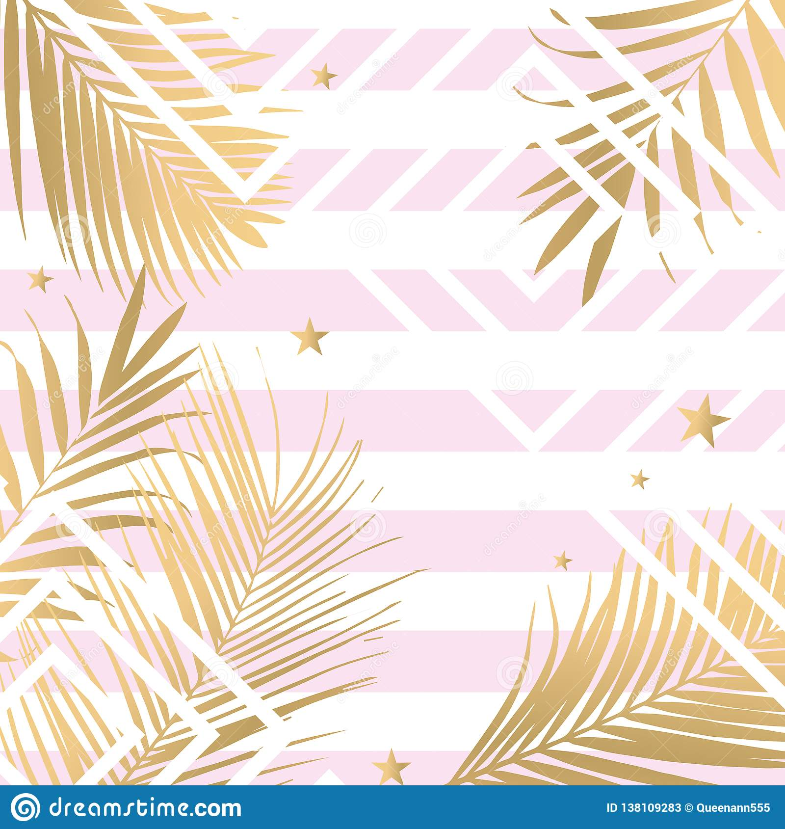 Vector Tropical Gold Palm Leaves On Pink Background Stock Illustration Illustration Of Gold Decoration 138109283 Tropical palm tree leaves background. https www dreamstime com vector tropical palm leaves pink background gold image138109283
