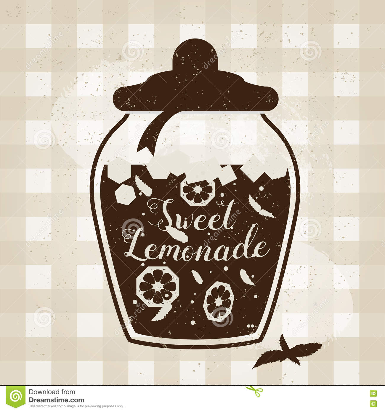 Typographic Book Cover Vector ~ Vector typography poster with lemonade icon creative