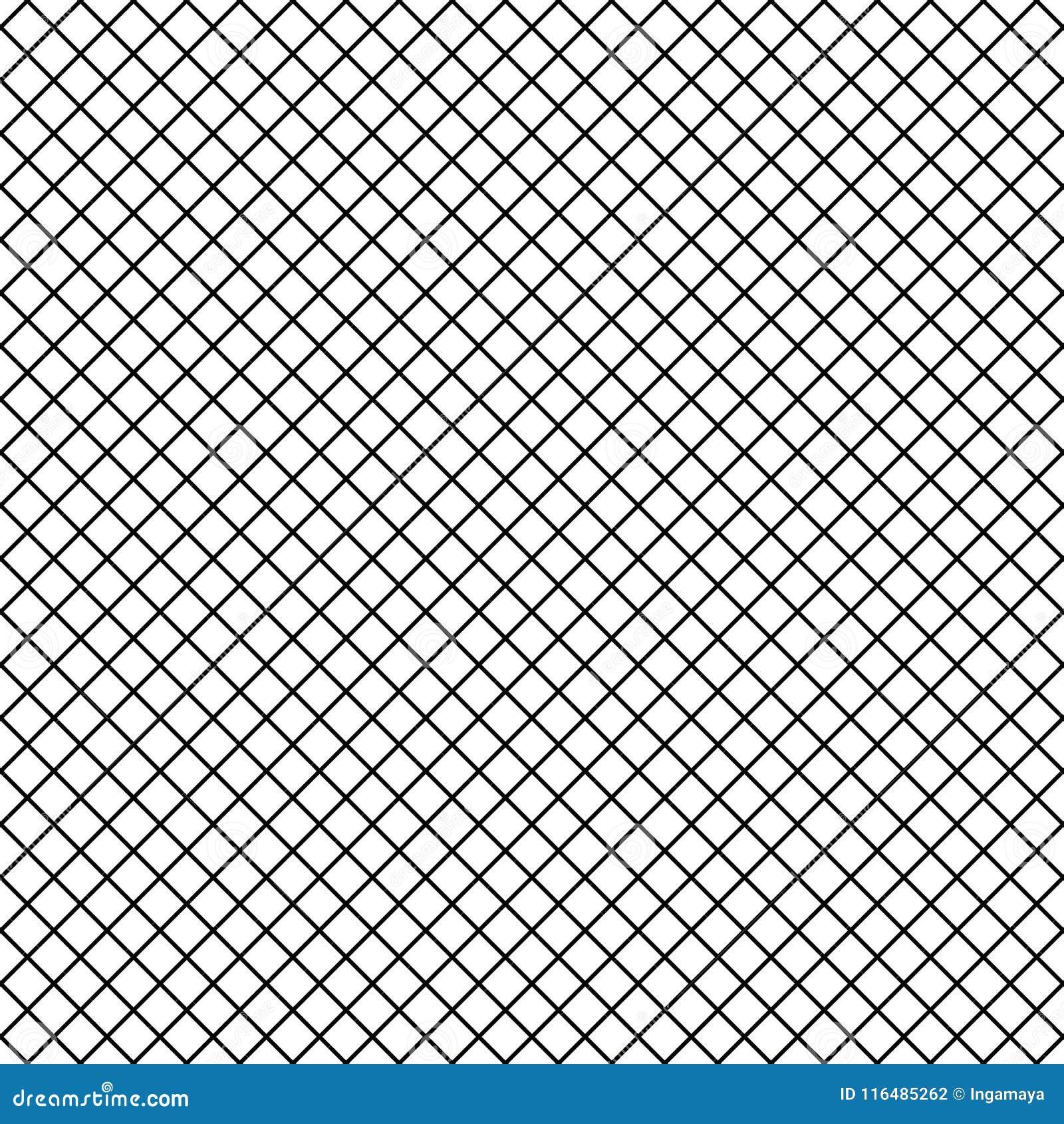444c5b175 Vector Uniform Grid Fishnet Tights Seamless Pattern. Stock Vector ...