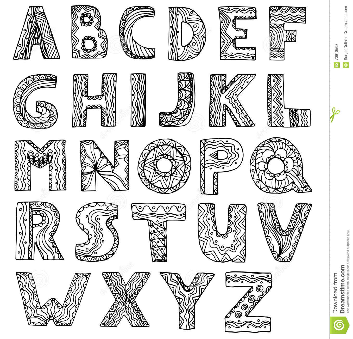 Vector unusual alphabet doodle style letters on a white backgrou vector unusual alphabet doodle style letters on a white backgrou thecheapjerseys
