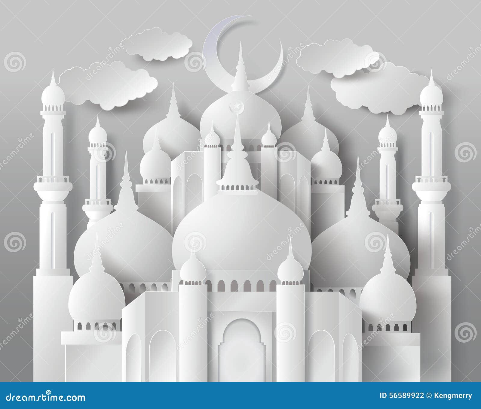 Vector van document Moskee