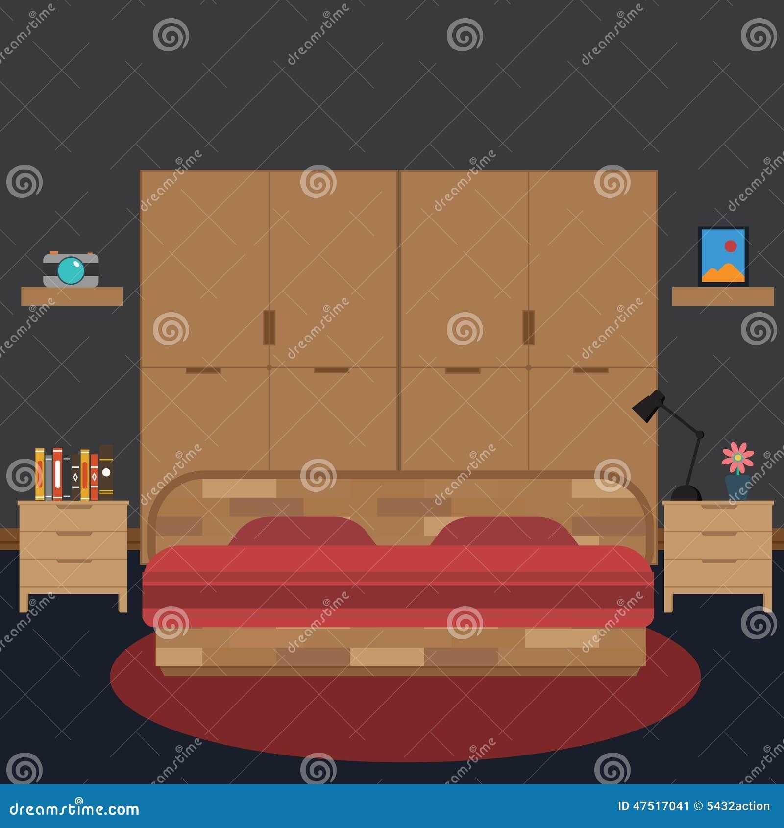 https://thumbs.dreamstime.com/z/vector-van-gesloten-omhoog-slaapkamer-klok-bloem-boek-47517041.jpg