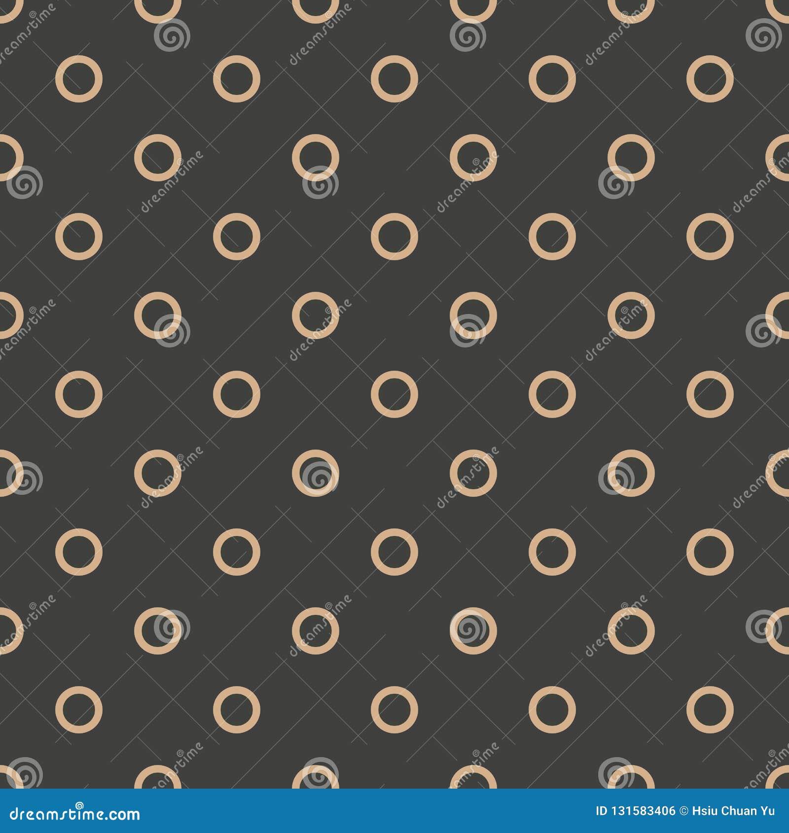 Vector van het damast naadloze retro patroon meetkunde als achtergrond om dwarskader Het elegante ontwerp van de luxe bruine toon