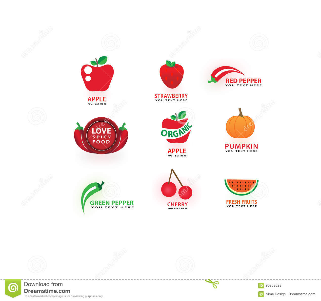 Vector vegetables and fruits icons set love cooking symbols vector vegetables and fruits icons set love cooking symbols food label set biocorpaavc