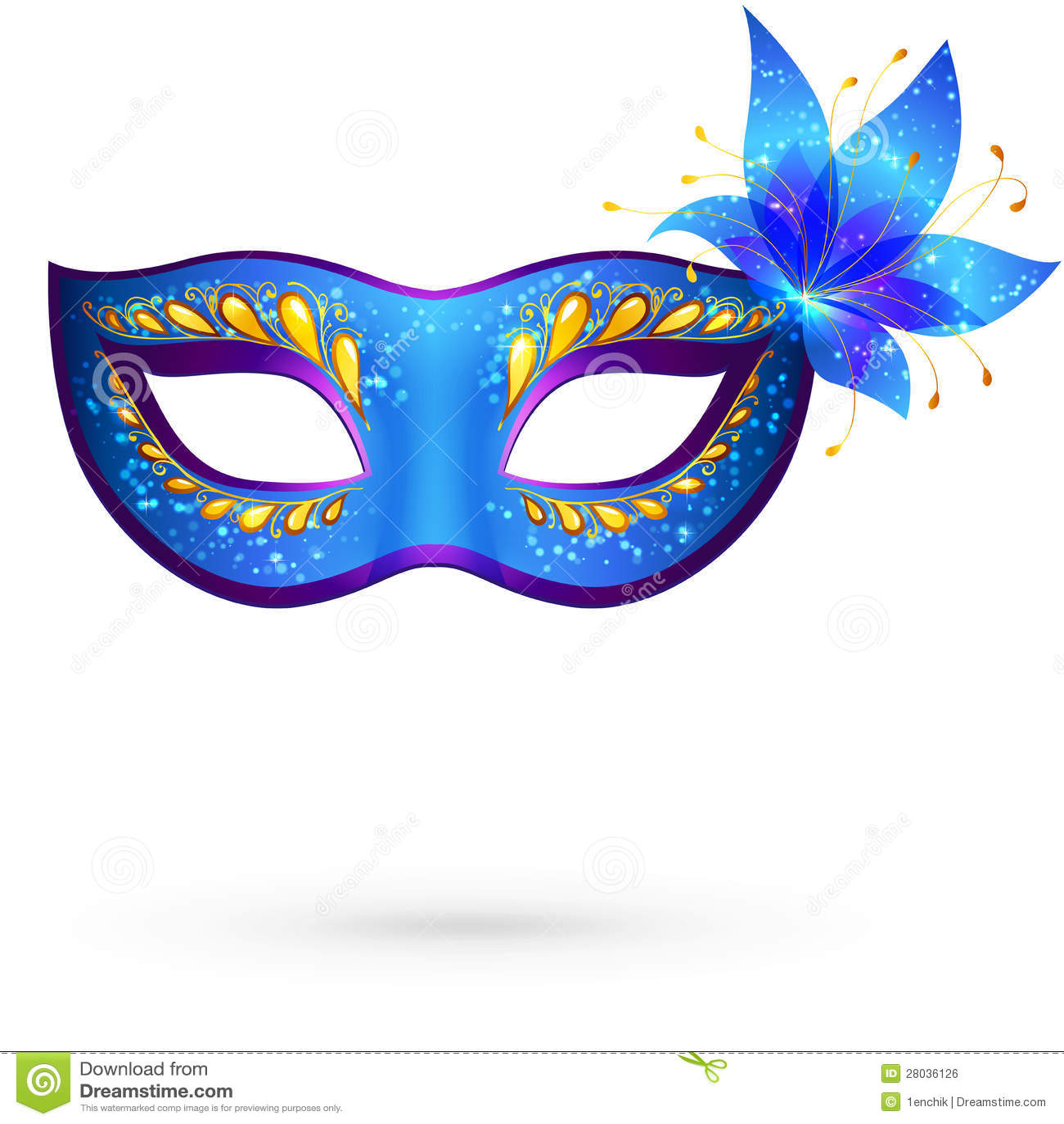 Vector Venitian Carnival Mask Royalty Free Stock Image ...