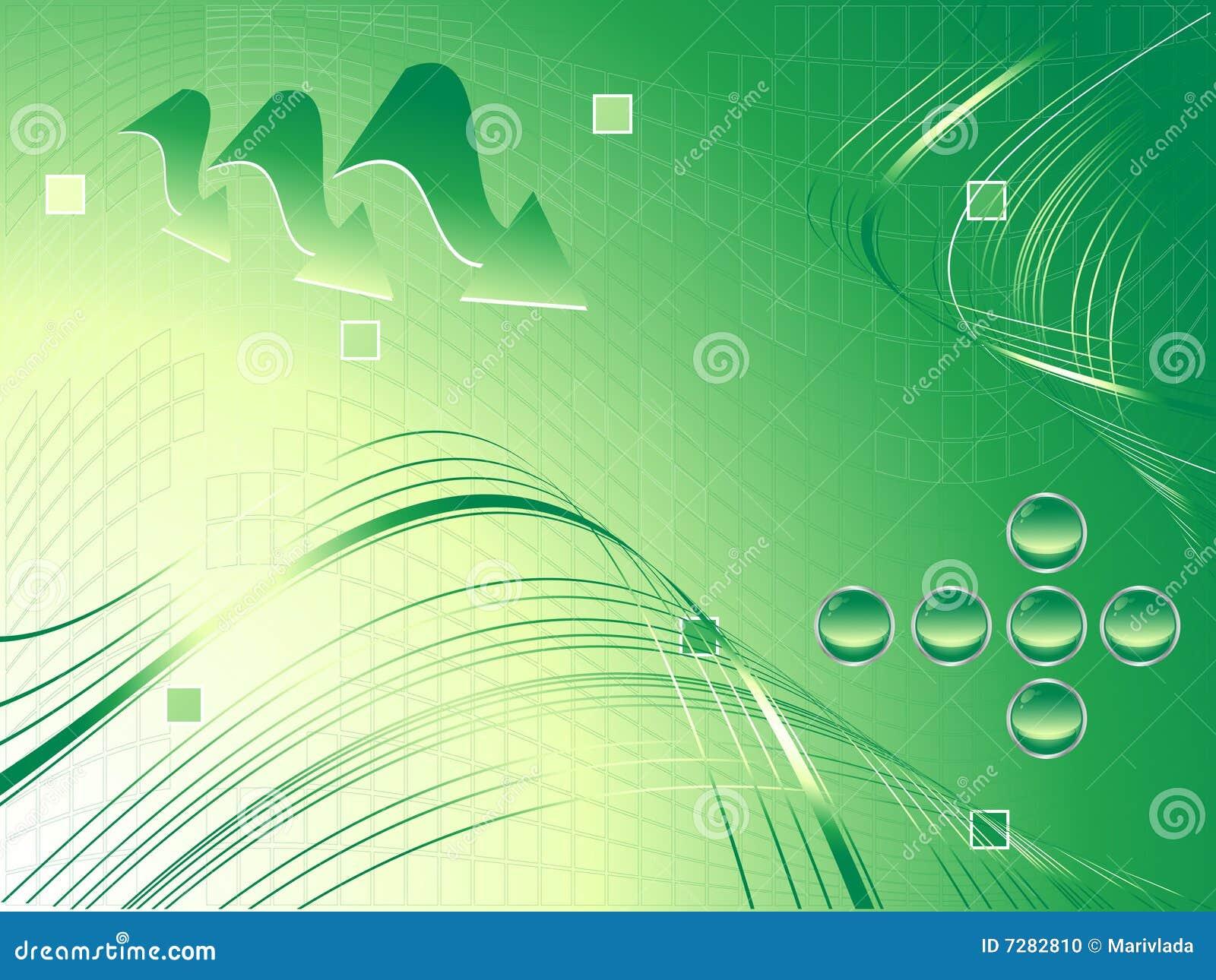 Vector verde moderno