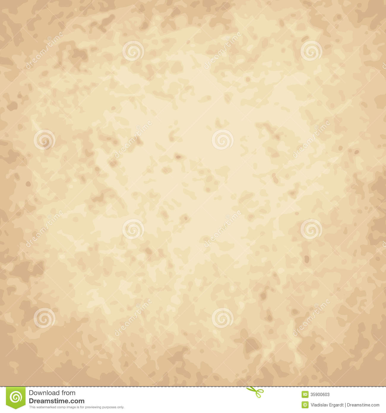 Vector Vintage Background, Crumpled, Scratch Paper Stock ...