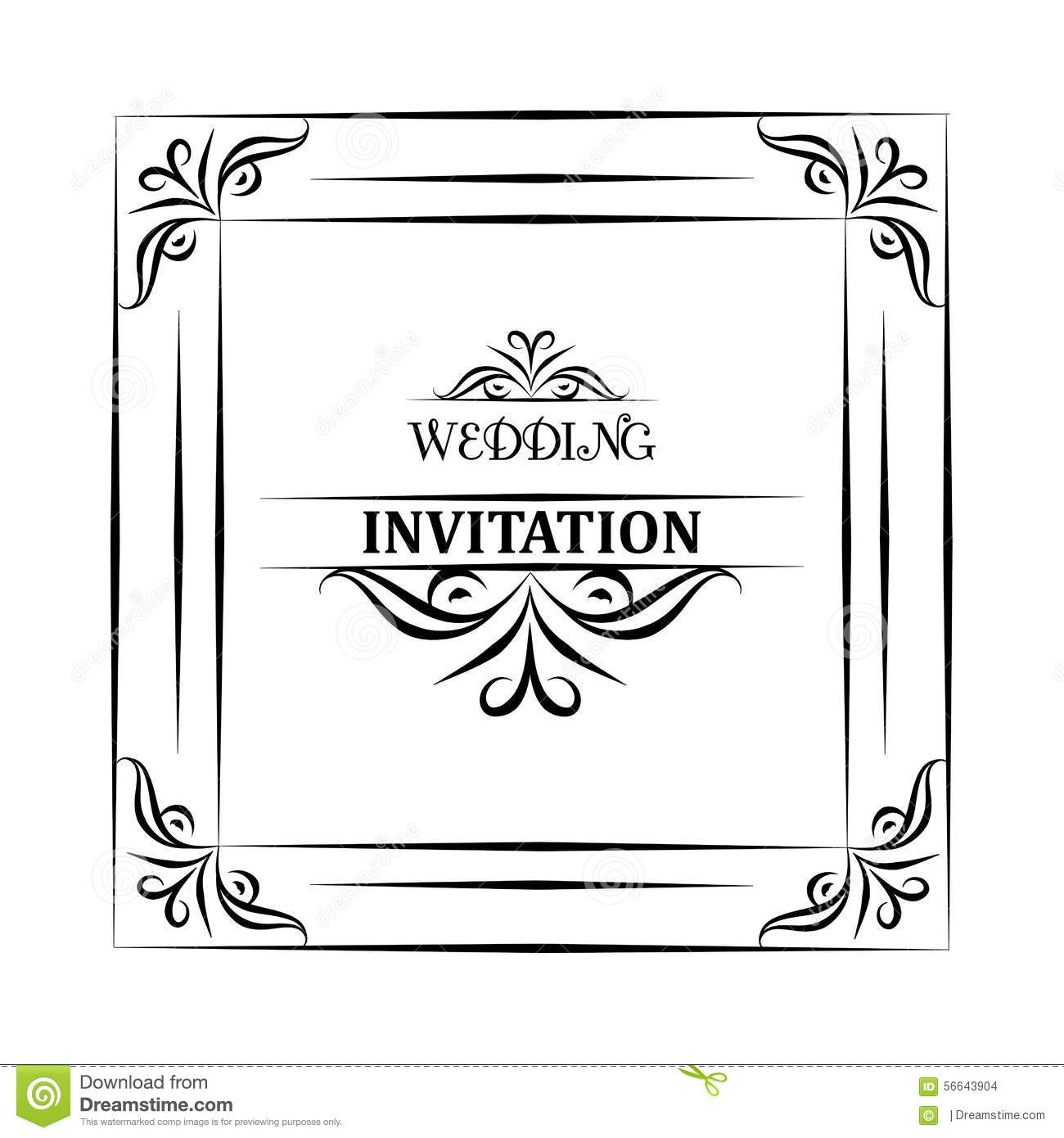 Vector vintage background and frame with sample text for wedding download comp stopboris Image collections