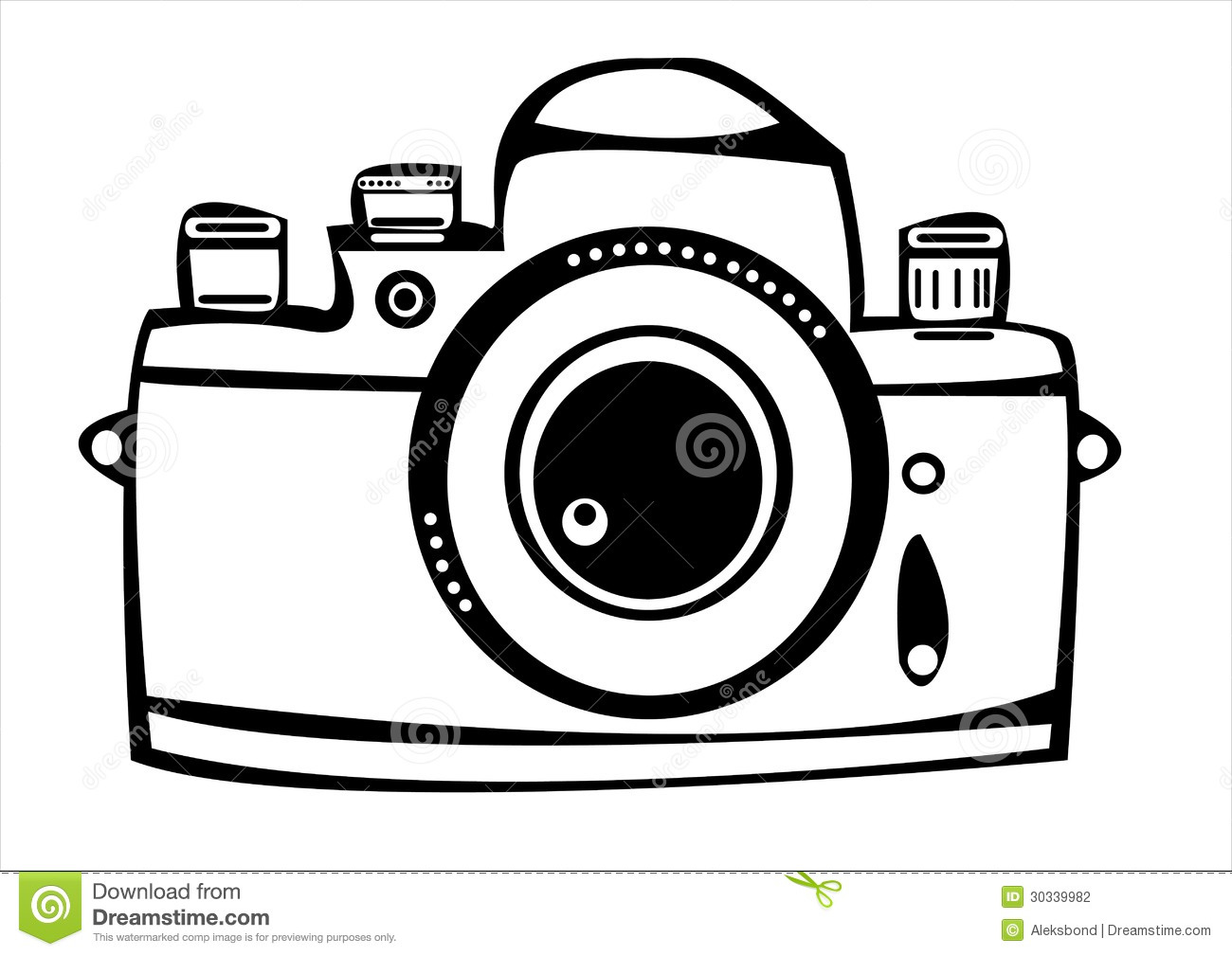 how to draw a camera art