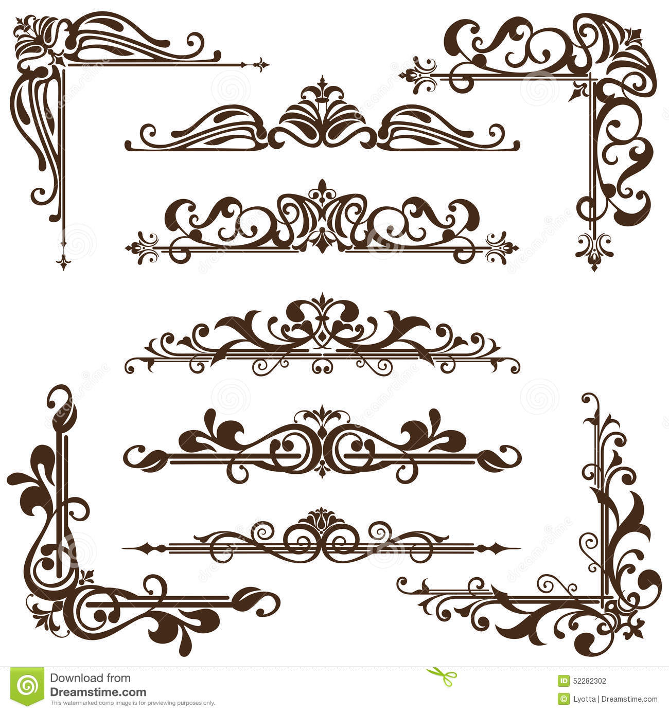 Download free vintage ornaments vintage ornaments and iders - Royalty Free Vector Download Vector Vintage Ornaments
