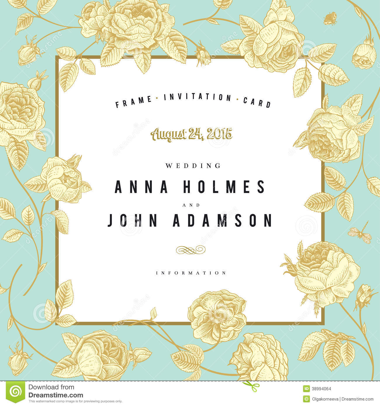 Invitation Cards For Wedding Anniversary with amazing invitation template