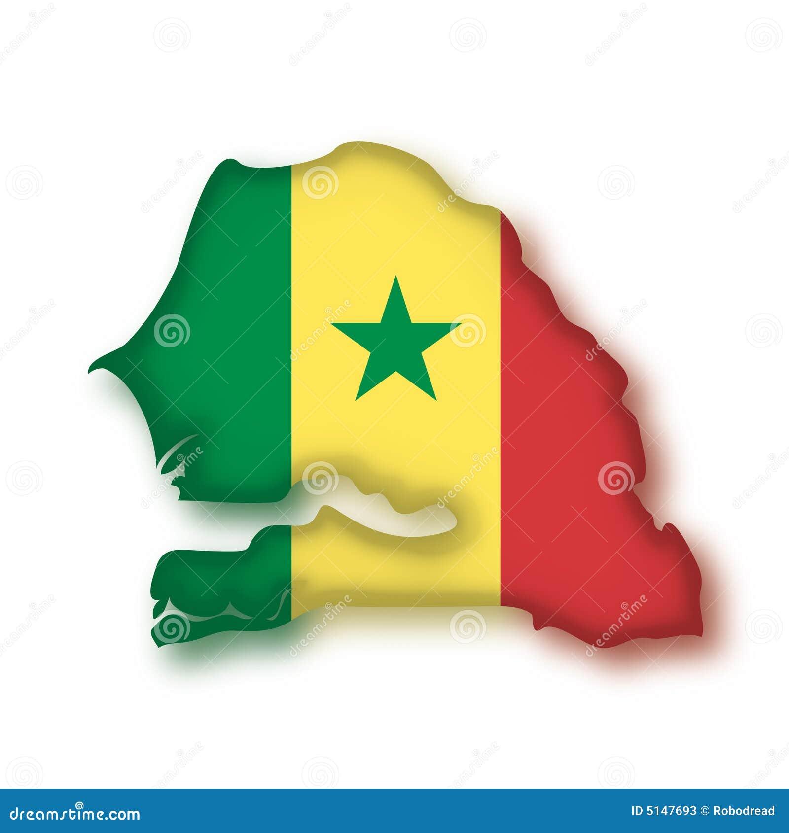 Vector Vlag Senegal