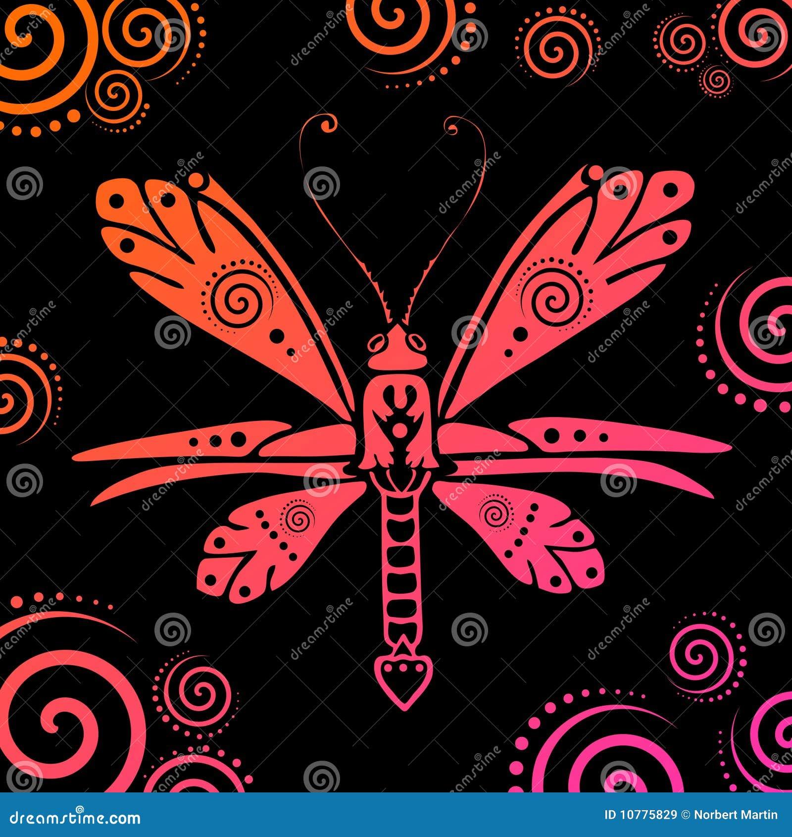 Vector vlinderillustratie