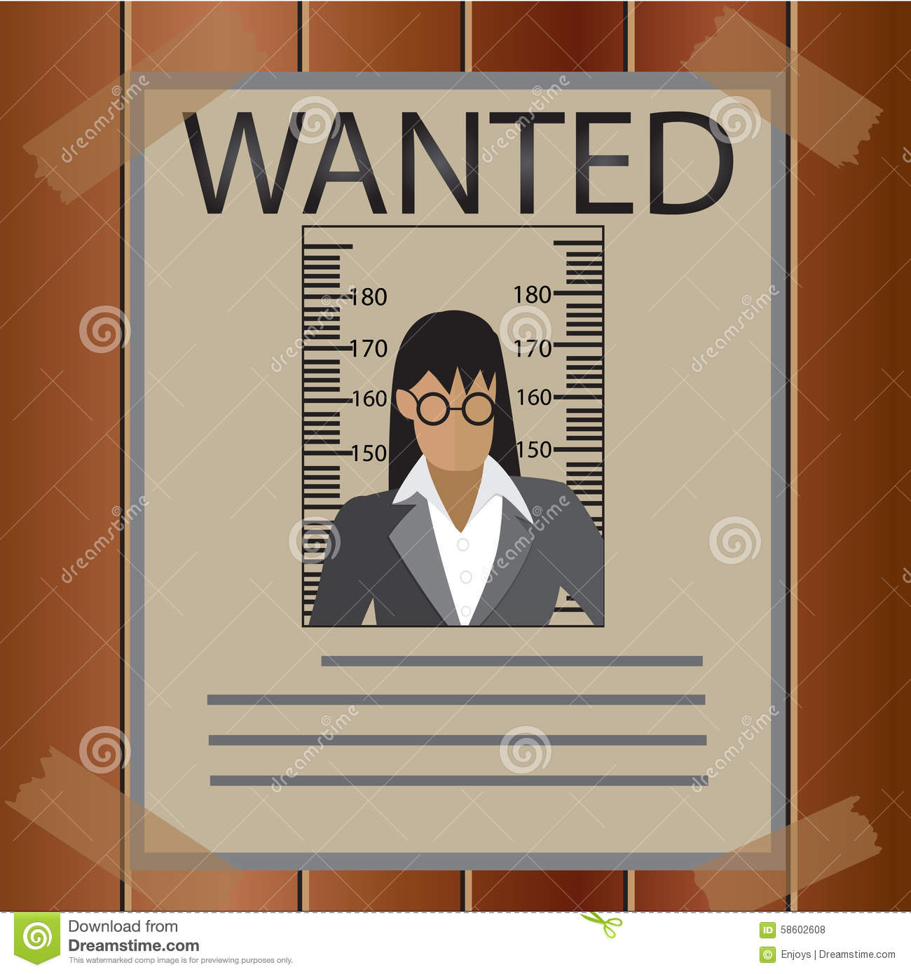 business wanted poster