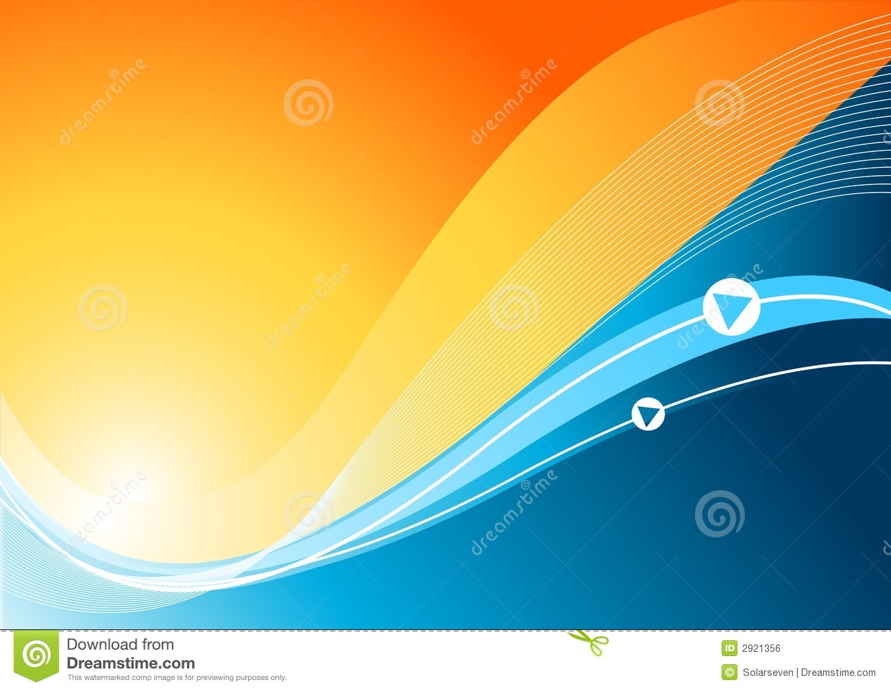 Vector wave background illustration 2921356 megapixl altavistaventures Images
