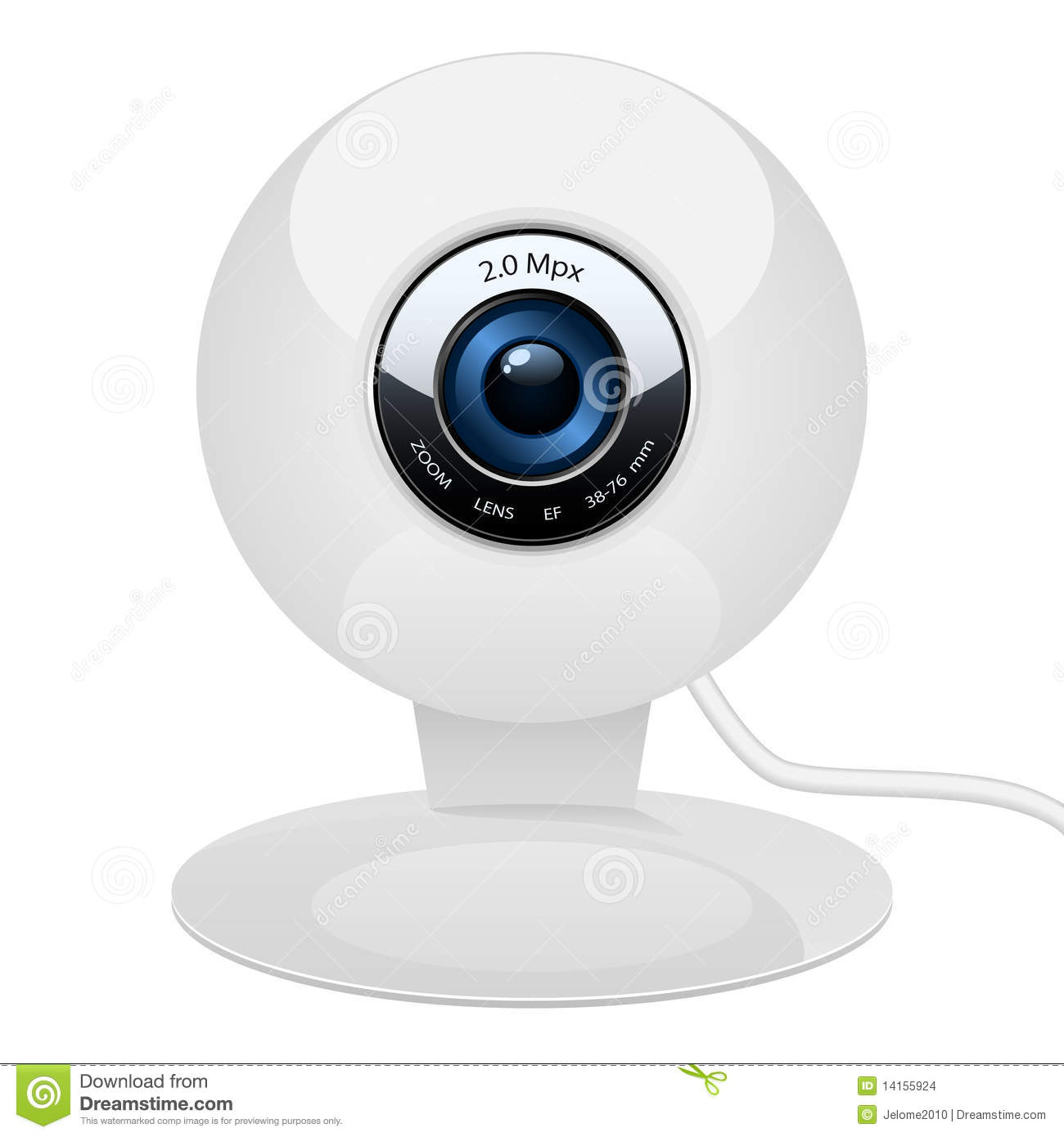 Vector Web Camera Stock Images - Image: 14155924: www.dreamstime.com/stock-images-vector-web-camera-image14155924