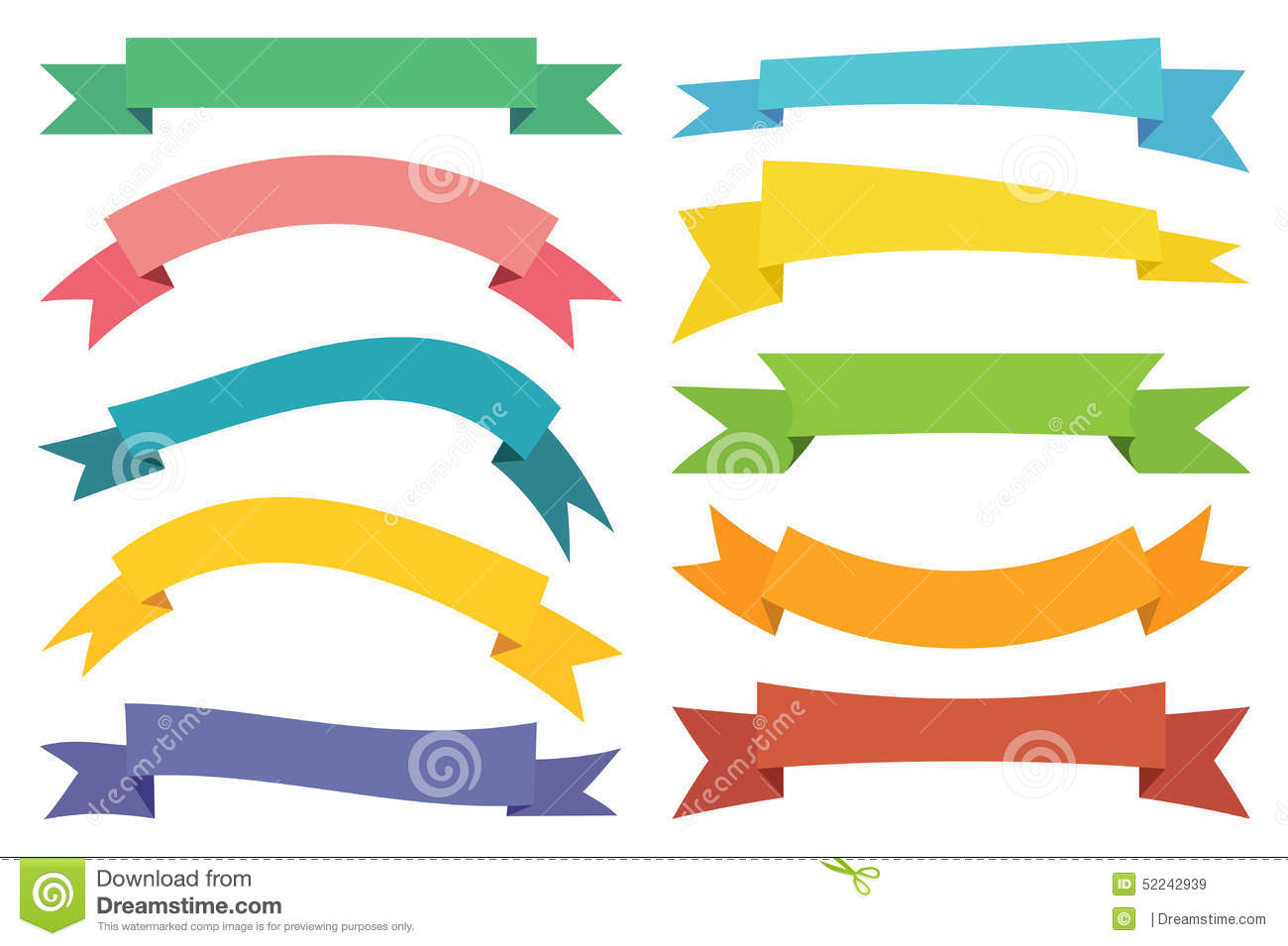 vector web stickers banners and labels stock vector  image: 52242939
