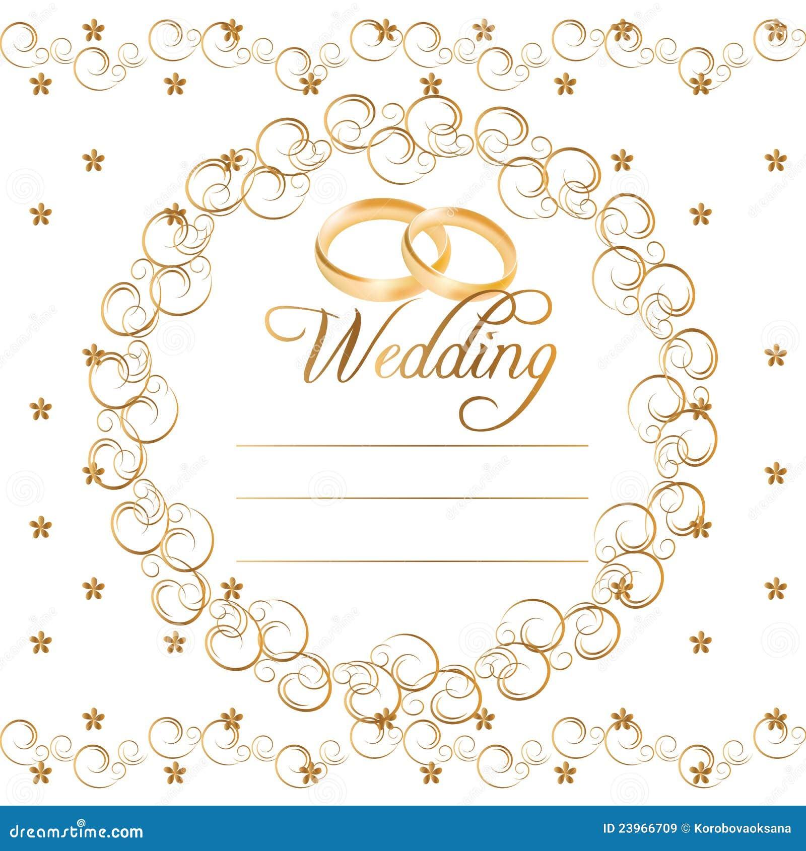 Vector Wedding Cards
