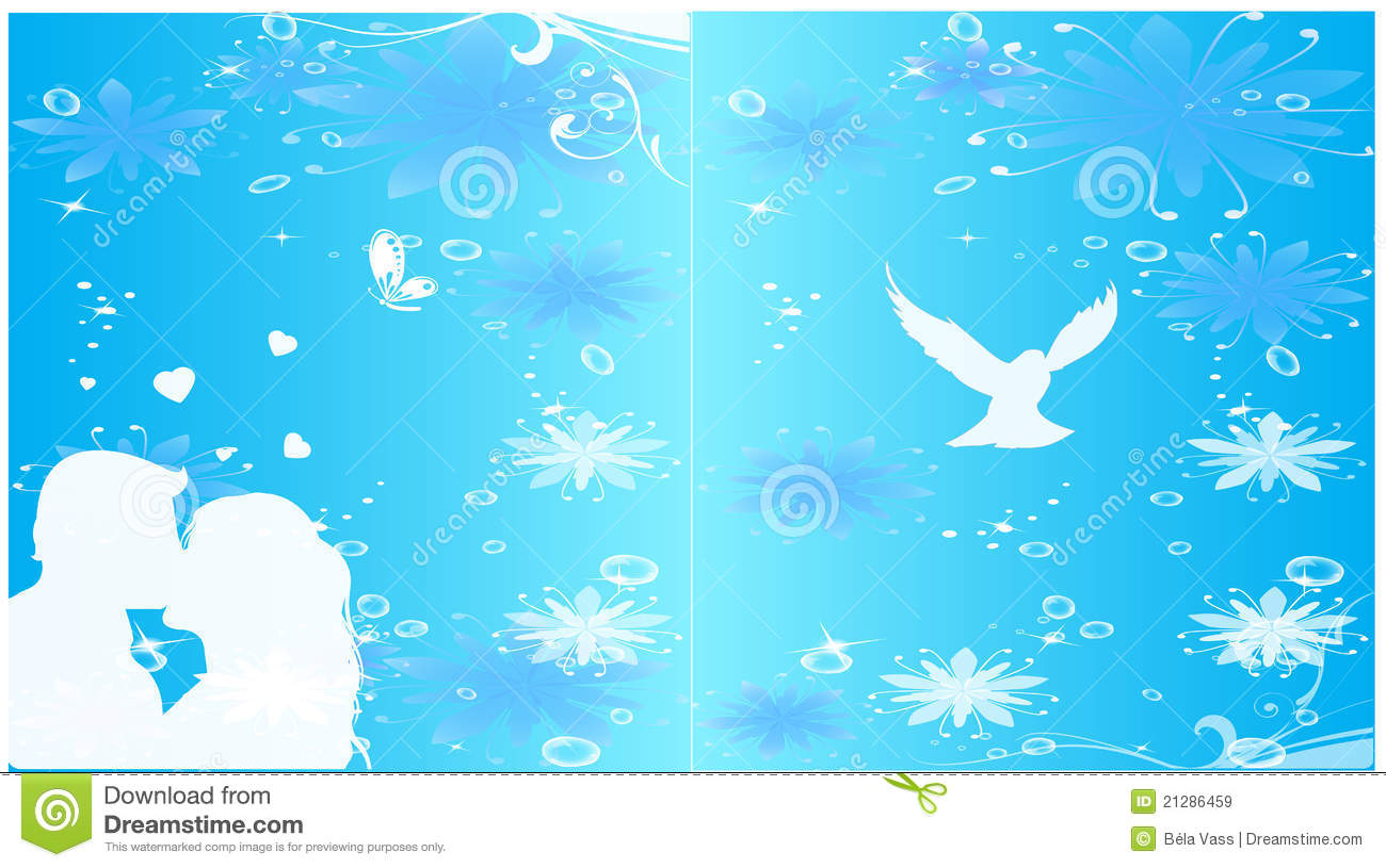 vector wedding invitation background stock vector illustration of