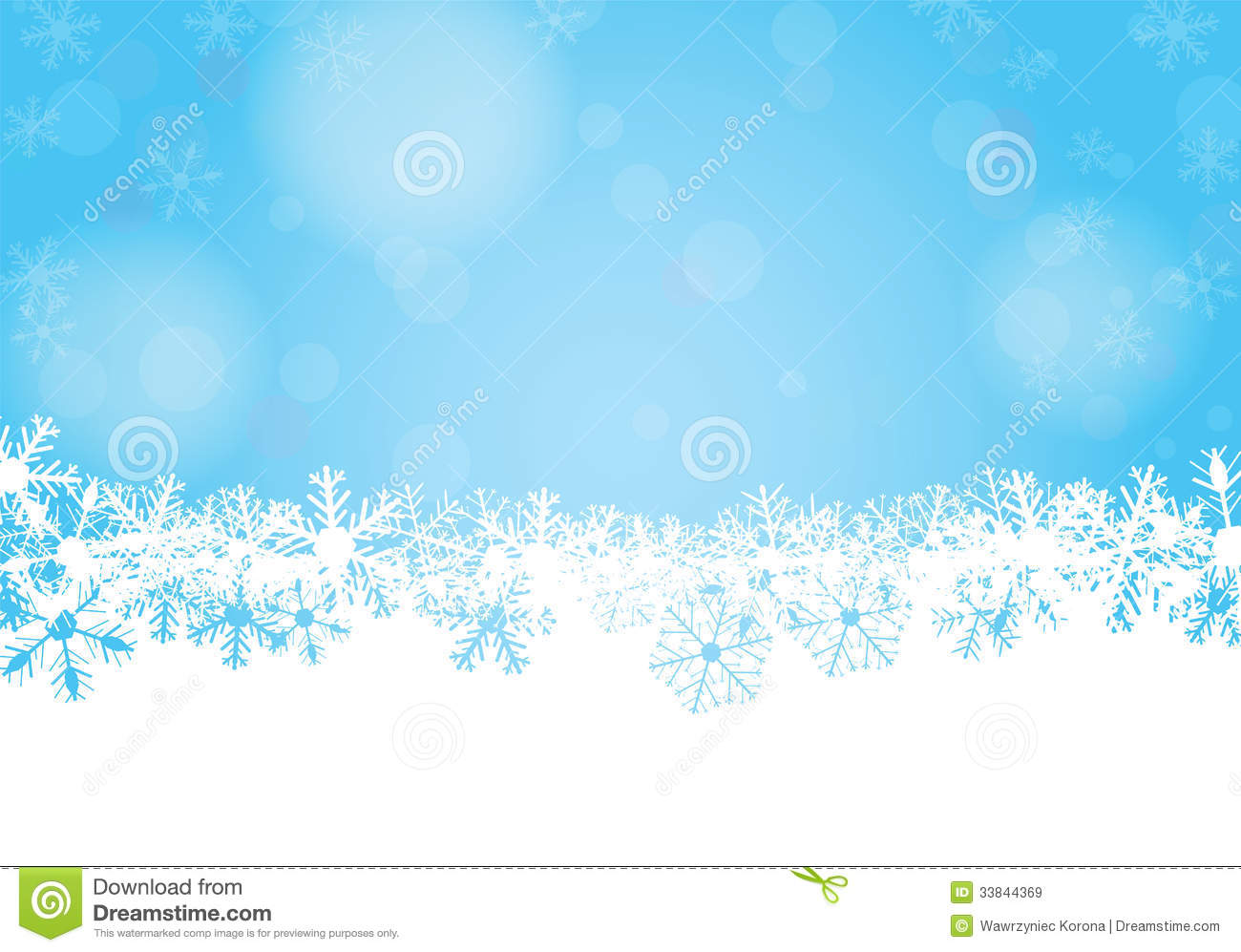 Vector Winter Background Royalty Free Stock Images
